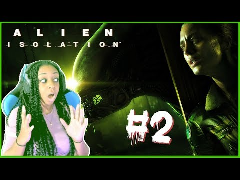 BOXING ROBOTS!? | Alien: Isolation Episode 2 Gameplay