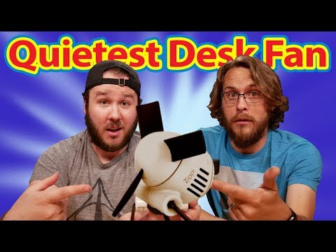 Quietest Most Silent Desk Fan? - Vornado Zippi