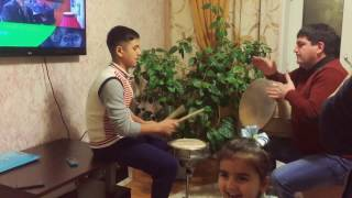 Video Azer & Samir (Qosa naqara & Naqara) download MP3, 3GP, MP4, WEBM, AVI, FLV Agustus 2018