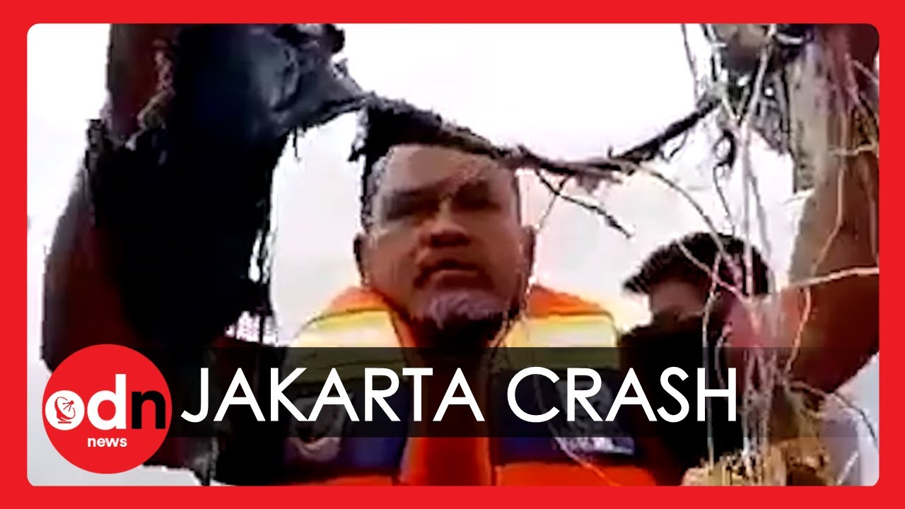 Sriwijaya Air Boeing 737 Feared Lost After Crashing Into the Sea