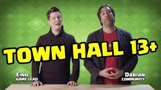 Town Hall 13 AND BEYOND ANNOUNCED! Clash of Clans UPDATE - Developer Update Video!