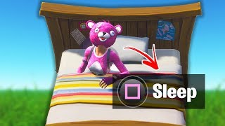 How To Make a Realistic Bed in Fortnite Creative Mode