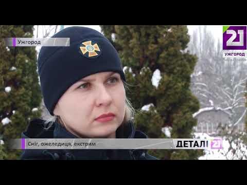 21 channel: Сніг, ожеледиця