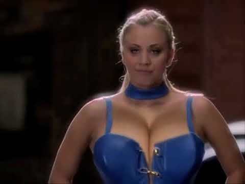 kaley cuoco breast expansion morph in charmed - youtube