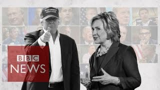 US election 2016: How have early frontrunners fared? - BBC News