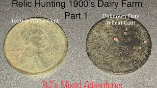 Relic Hunting Abandoned Dairy Farm-Longer Version Part 1