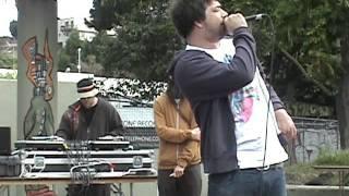 Aesop Rock - Pigs(Live at The Potrero Del Sol Skatepark San Francisco)