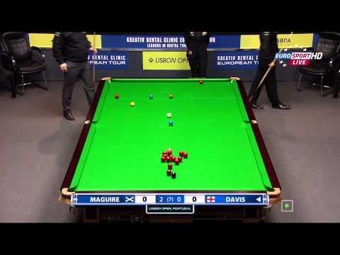 Snooker. Lisbon Open 2014.SF.Stephen MAGUIRE-Mark DAVIS