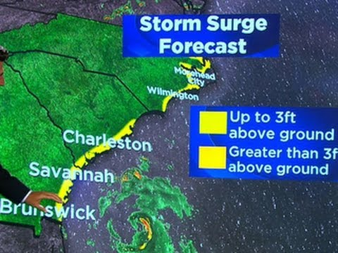 Weather forecast: Hurricane Arthur progresses up East Coast