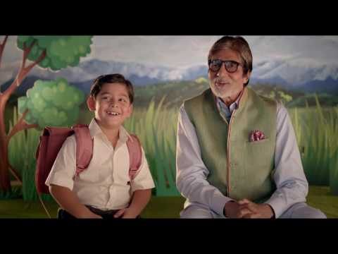 Amitabh Bachchan as 'Mard' - Swachh Bharat Mission