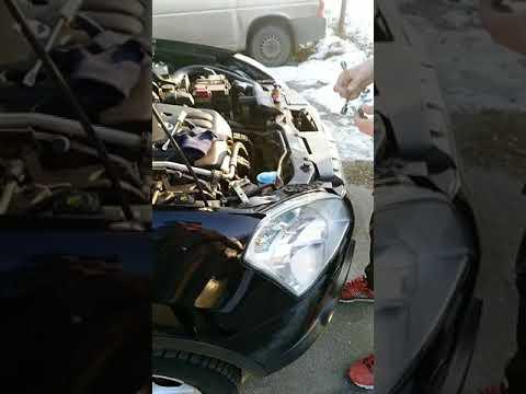 Замена передних габаритов на Nissan Qashqai
