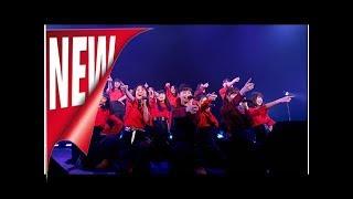 【ライブレポート】x21新体制初の定期ライブでメンバー涙、来春シングルリリースも - 音楽ナタリー | ニュース 「NEXT FUTURE STAGE~5th SEASON~vol.1」の様子。