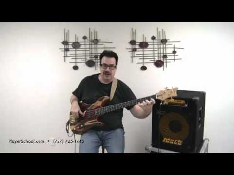 JEFF BERLIN Bass Lessons - Bass Solo on DR Strings - The Players School of Music