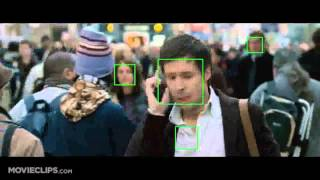 Face Recognition in The Bourne Ultimatum