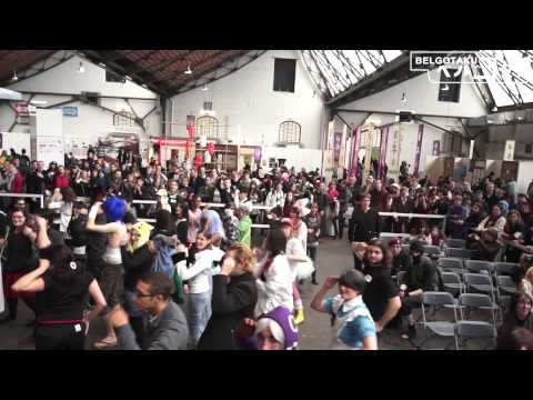 [Japan Expo Belgium 2012] Flash Mob - Night of Fire