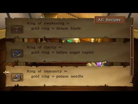 Dragon Quest VIII (PS2) ALL Alchemy Recipes(Dragon Quest 8 Lista Do Alchemy Pot (PS2)) EM HD