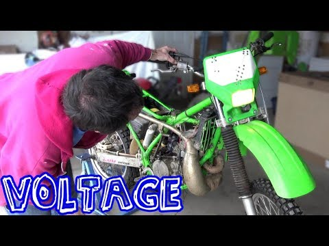 $200 Kawasaki Dirt Bike - Re-Wire For Road Use