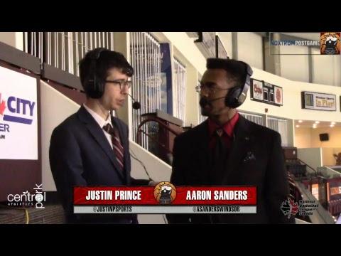 Windsor Express vs St. John's Edge | April 11, 2018 | NBL Canada Playoffs | Round 1 Game 3