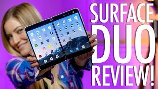 Microsoft Surface Duo Review!