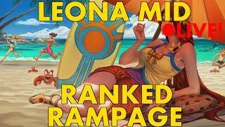 RANKED Leona Mid - PRAISE THE SUN!