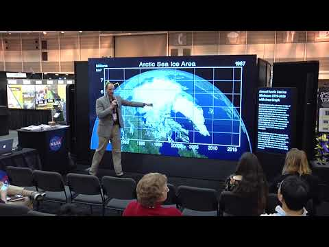 """""""Rapid Arctic Climate Change: What's cloud got to do with it?"""" Presented by Patrick Taylor"""