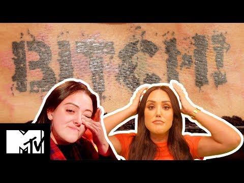 Charlotte Crosby Is OMG Over Kyia's Savage Tramp Stamp Tatt  Just Tattoo Of Us S3 Ep 6