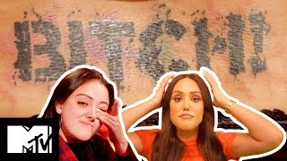 Charlotte Crosby Is OMG Over Kyia's Savage Tramp Stamp Tatt | Just Tattoo Of Us S3 Ep 6