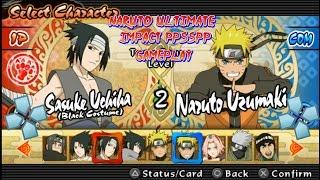 Naruto ultimate ninja impact-ppsspp gameplay