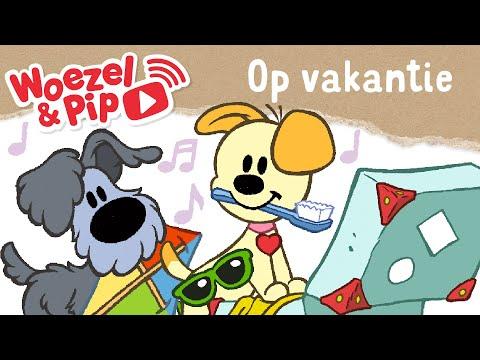 Wonderlijk Woezel & Pip - Liedje - Op vakantie - YouTube RU-35