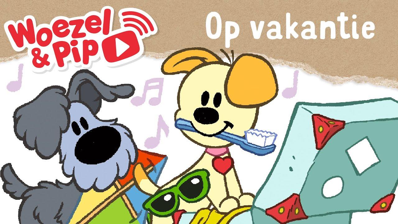 Verrassend Woezel & Pip - Liedje - Op vakantie - YouTube MG-17