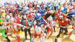 1.ウルトラマンのうた:みすず児童合唱団、コーロステルラ 2.高速戦隊タ...