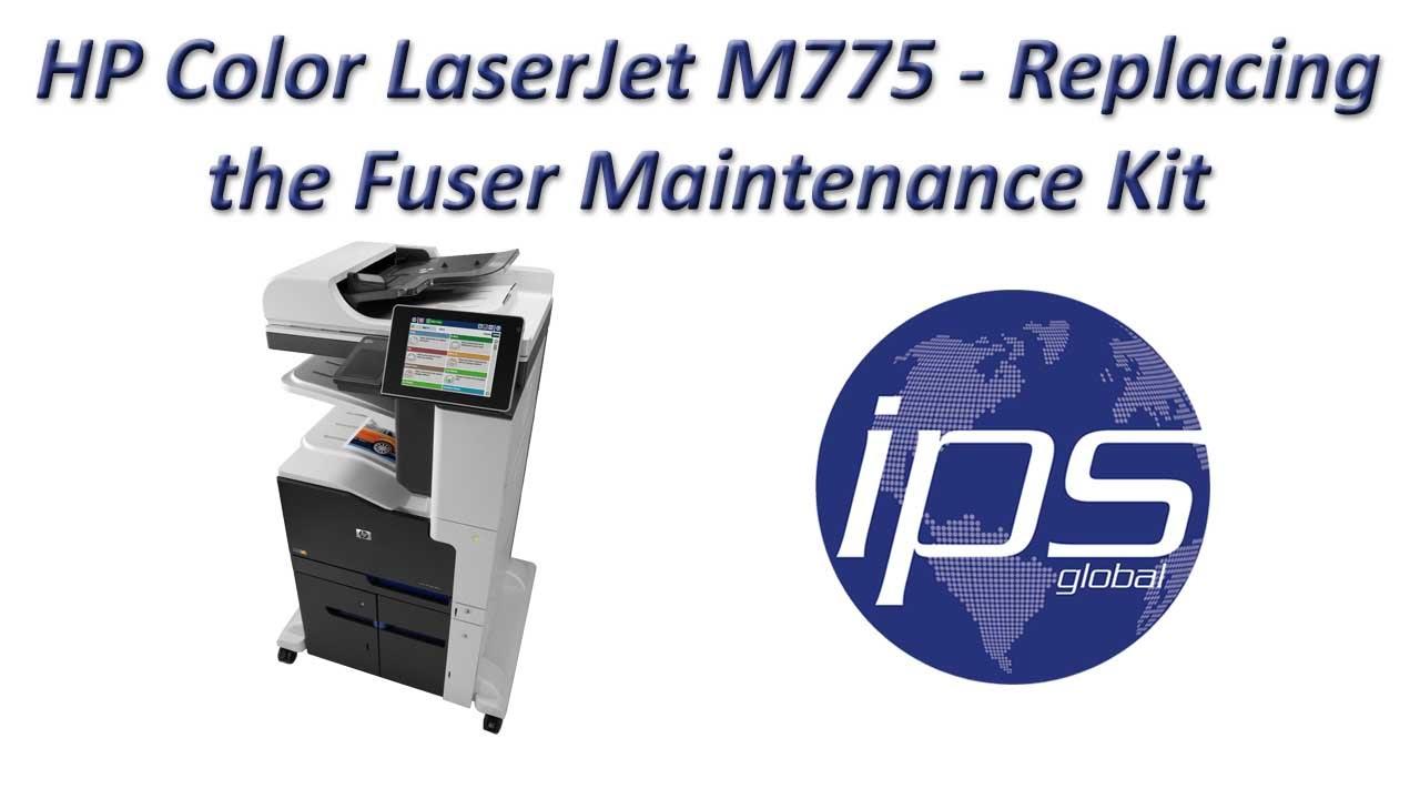 Hp Color Laserjet M775