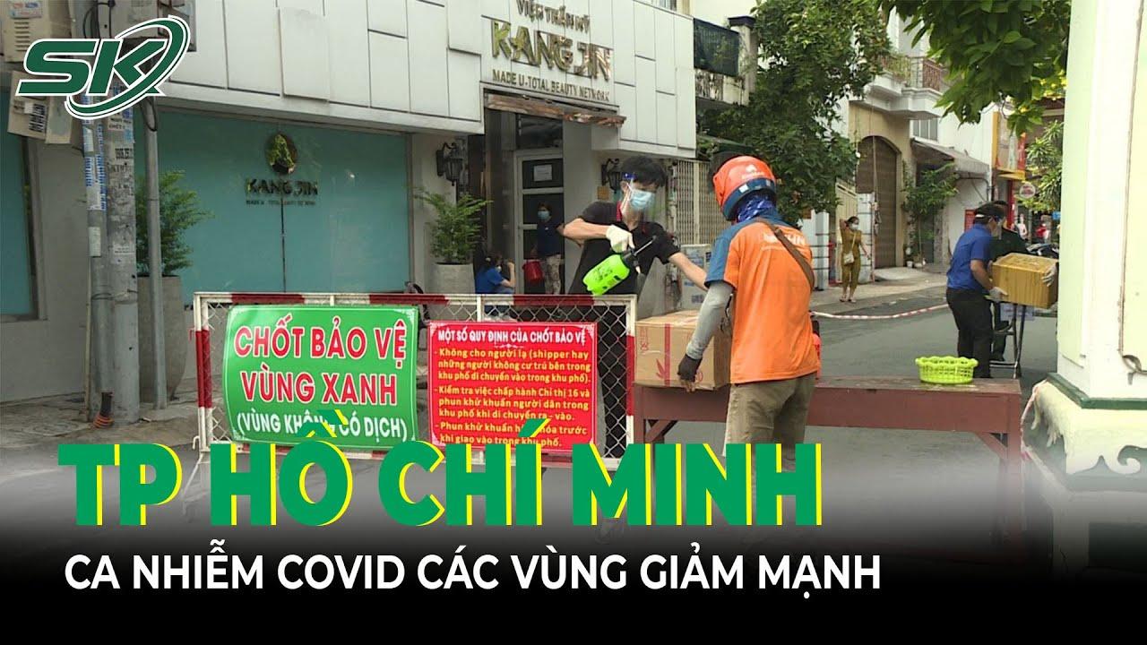 Ton Cnh Covid Sng 199 TPHCM T L Nhim Covid19  Vng Xanh Vng Vng Gim Mnh  SKS