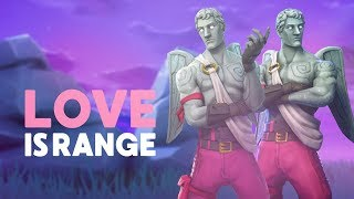 LOVE IS RANGE! NEW SKIN: LOVE RANGER (Fortnite Battle Royale)