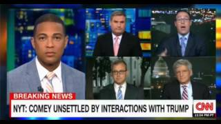 Comey and Trump relationship CNN Don Lemon Panel discussion
