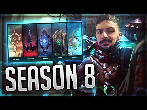 SEASON 8 EKKO JUNGLE IS TO FAST WITH NEW RUNES BUILD  GUIDE FOR S8 EKKO | League of Legends Gameplay