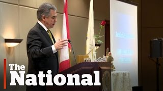 "Jim Prentice faces backlash over ""look in the mirror"" comment"