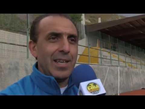 Giuseppe Vadalà Presid.Calcistica Spinella e Vincenzo Morabito Ass.Un'Azione Per Un Sorriso