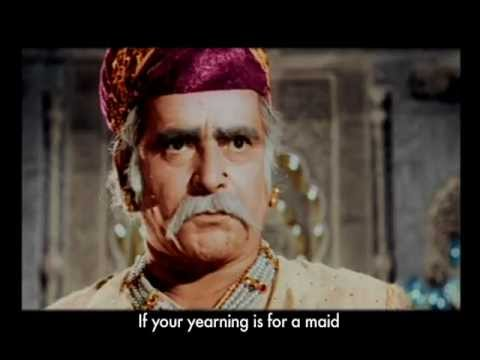 MUGHAL-E-AZAM (1960) (Full Movie- decolorization to original version from 2004 colourization) from YouTube · Duration:  2 hours 38 minutes 30 seconds