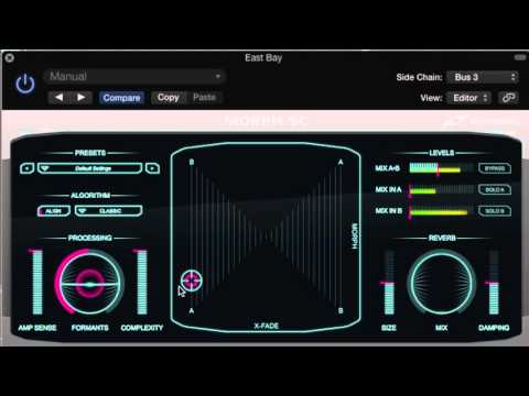 DRUM PROCESSING WITH MORPH