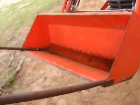 15 minute diy loader bucket forks - YouTube