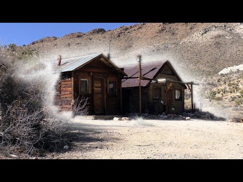 THIS WAS A CRIME SCENE... **TRUE STORY IN THE MOJAVE ABANDONED CABINS**