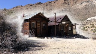 THIS WAS A CRIME SCENE... **TRUE STORY IN THE MOHAVE ABANDONED CABINS** thumbnail