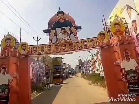 Massive Flex Banners For SURIYA's Thaana Serndha Koottam !! Kanchipuram Babu Theatre