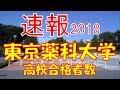 【速報】東京薬科大学 2018年(平成30年) 合格者数高校別ランキング