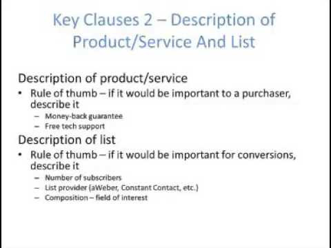 Joint Venture Agreement - How To Structure - Youtube