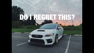 Do I regret buying my WRX?