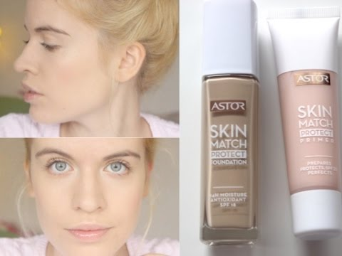 first impression astor skin match foundation primer youtube. Black Bedroom Furniture Sets. Home Design Ideas
