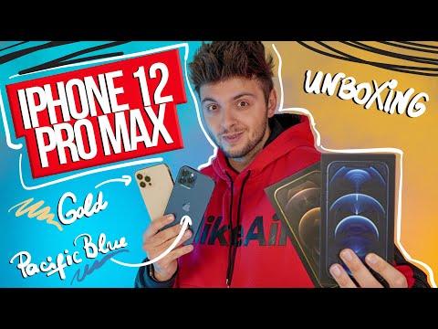 ПОРЪЧАХ СИ iPhone 12 PRO MAX В СИНЬО И ЗЛАТНО