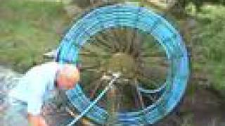 Perpetual Waterwheel Pump
